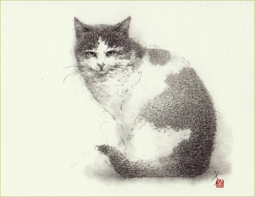 《 『にゃんご』 の肖像 》 _f0159856_7165397.jpg