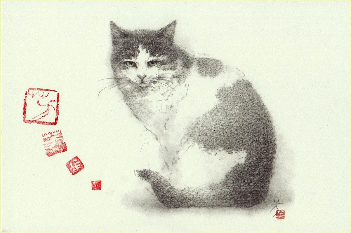《 『にゃんご』 の肖像 》 _f0159856_7175320.jpg
