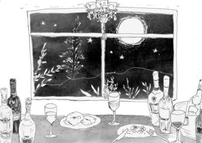 明後日の満月バーはきれいなお月様が見えそうです。_a0221457_1145971.jpg