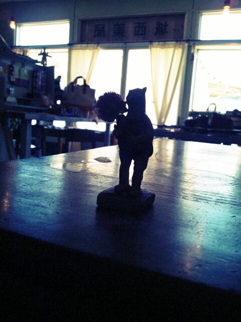 まつしま&グラン・ルーとカレンダーサンプル設置と陶人形となんたら星人_c0246783_18562030.jpg