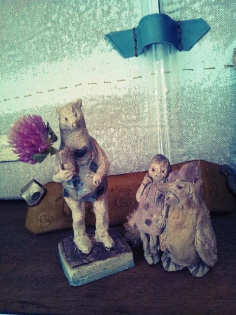 まつしま&グラン・ルーとカレンダーサンプル設置と陶人形となんたら星人_c0246783_18591839.jpg