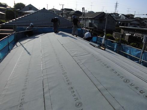 屋根のリフォーム_e0190287_20412672.jpg