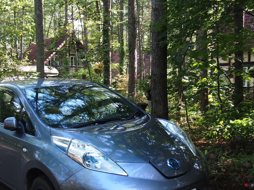 はじめてやって来ました!「電気自動車」・・新しい旅のスタイル。_f0276498_23474894.jpg