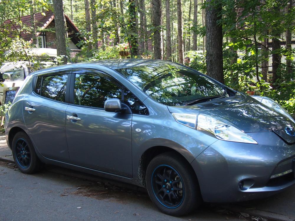 はじめてやって来ました!「電気自動車」・・新しい旅のスタイル。_f0276498_23491325.jpg
