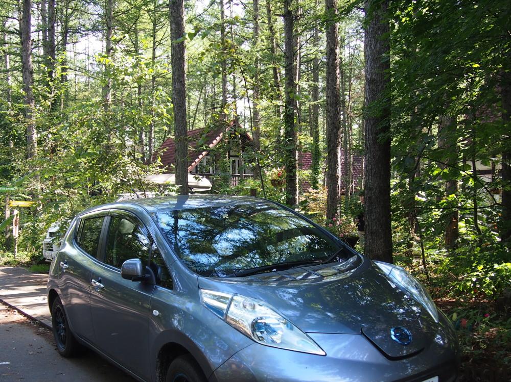 はじめてやって来ました!「電気自動車」・・新しい旅のスタイル。_f0276498_2350319.jpg