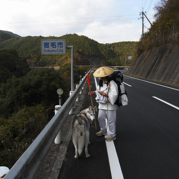 Memory of the second pilgrimage with husky HANA_c0049299_12145963.jpg