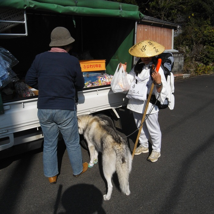 Memory of the second pilgrimage with husky HANA_c0049299_128622.jpg
