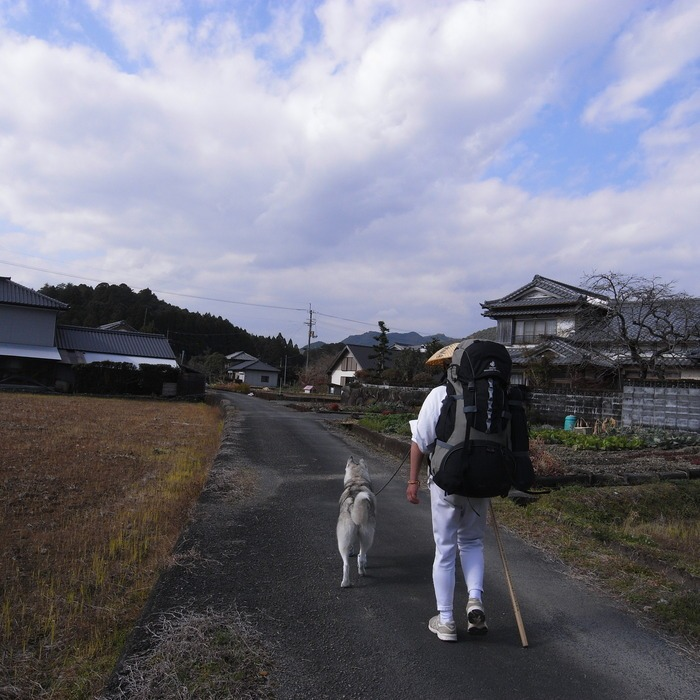 Memory of the second pilgrimage with husky HANA_c0049299_129558.jpg