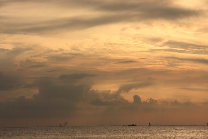 いなげの浜の黄昏時_b0268615_6523144.jpg
