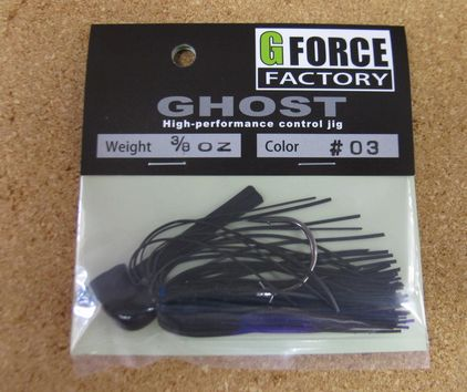 G FORCE FACTORY GHOST(ラバージグ)  New_a0153216_22402855.jpg