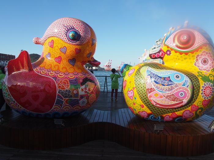 2013 9月 台湾 (13) 基隆へ  台北駅をブラブラしてから 市場の蟹スープとおこわ_f0062122_1075764.jpg