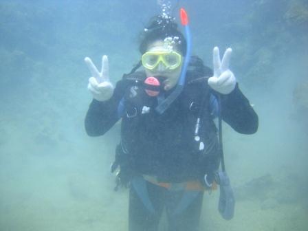 サンゴがキレイでした☆_a0189838_23482783.jpg