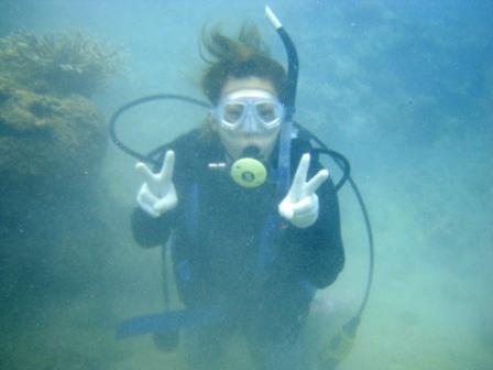 サンゴがキレイでした☆_a0189838_23483913.jpg