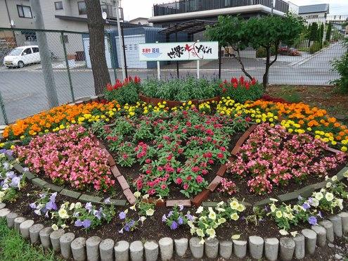 第21回学校花壇コンクール受賞校写真展のご案内_e0145841_1818427.jpg