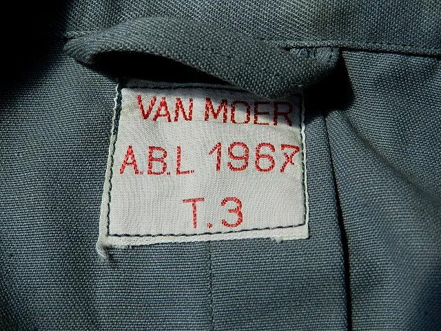 Belgian army 60\'s work coat dead stock_f0226051_131035.jpg