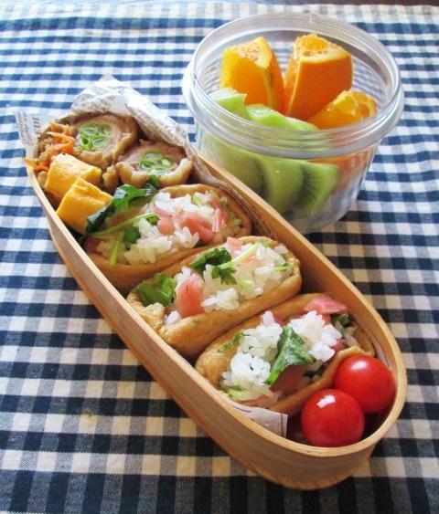 9.20 薬味お稲荷のお弁当と「いいこと日記」_e0274872_18231210.jpg