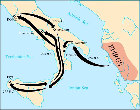 皮洛斯的勝利與羅馬義大利南部統一_e0040579_524257.png