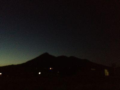 猪苗代湖と会津磐梯山と待宵月_f0081311_17302037.jpg