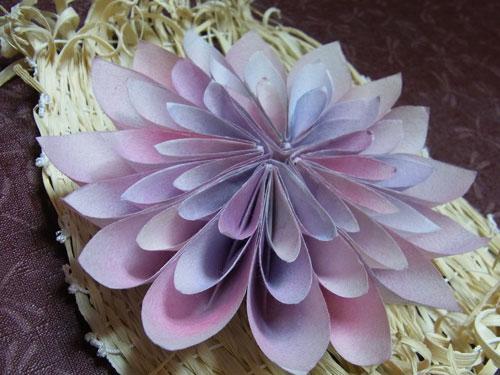ハート 折り紙 折り紙 菊 折り方 : divulgando.net