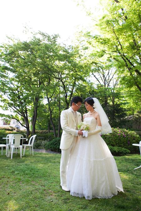 新郎新婦様からのメール 夢の無いという花嫁様へ、花という夢を  杉並会館様へ2_a0042928_21403178.jpg