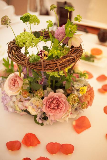 新郎新婦様からのメール 夢の無いという花嫁様へ、花という夢を  杉並会館様へ2_a0042928_2142973.jpg