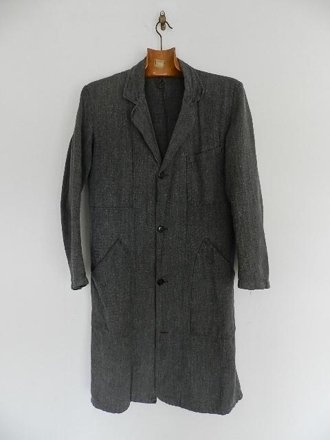 Black chambray atelier coat 2013 sep_f0226051_13172163.jpg