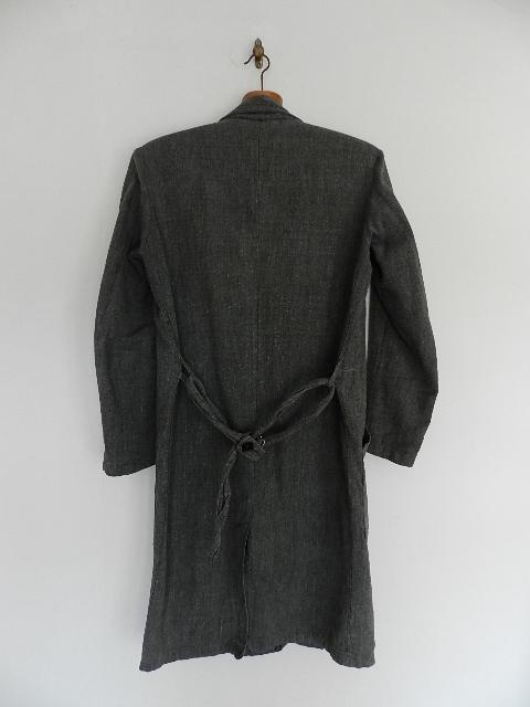 Black chambray atelier coat 2013 sep_f0226051_13183410.jpg