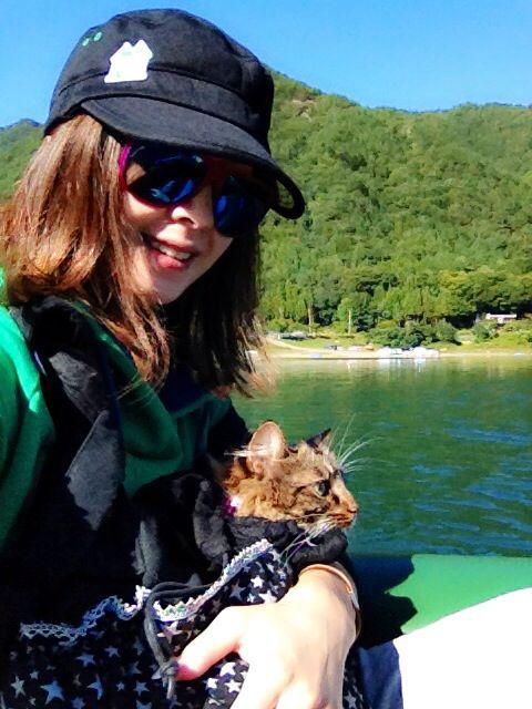 西湖☆キャンプ&猫カヤック♩_c0151965_13182313.jpg