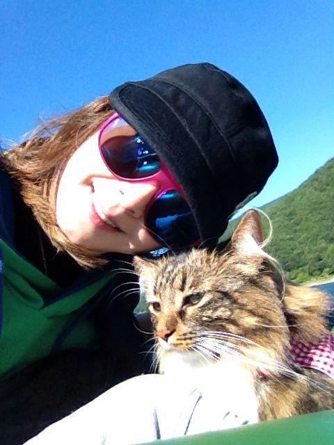 西湖☆キャンプ&猫カヤック♩_c0151965_13183883.jpg