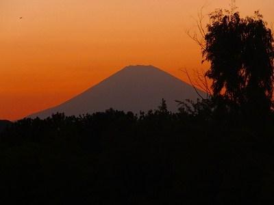 お彼岸の..富士山!_b0137932_9195098.jpg