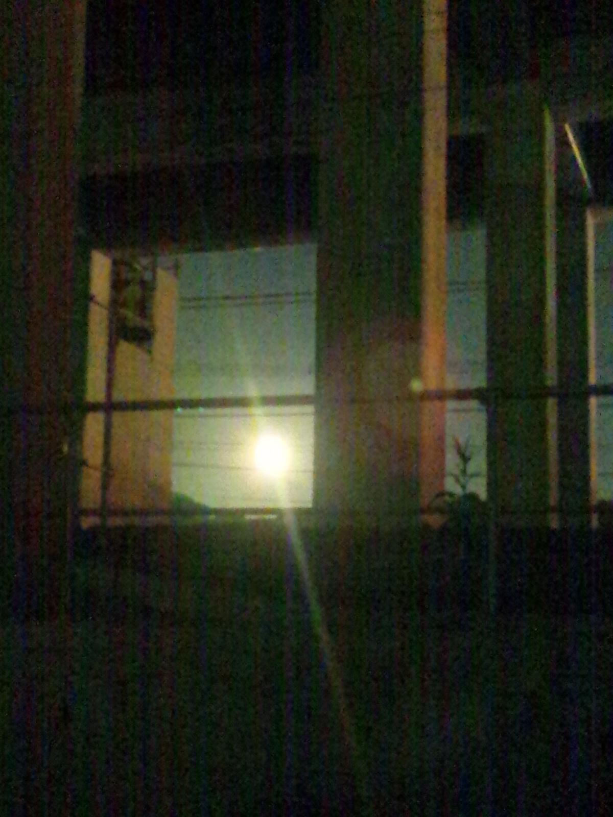 十六夜の月と実る稲穂と逆ヒッチハイク新入荷と芸術の秋の月光荘_c0246783_17425363.jpg