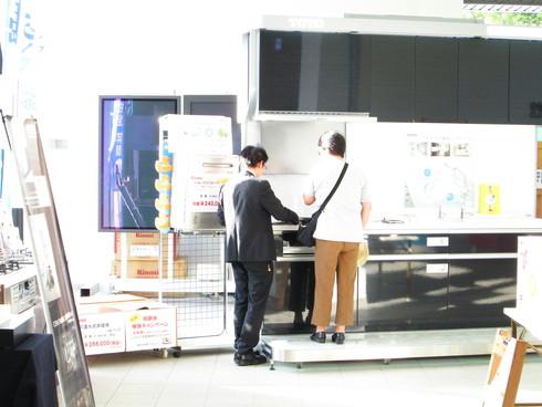 平沼店の展示相談会を行っています。_e0190287_203641.jpg