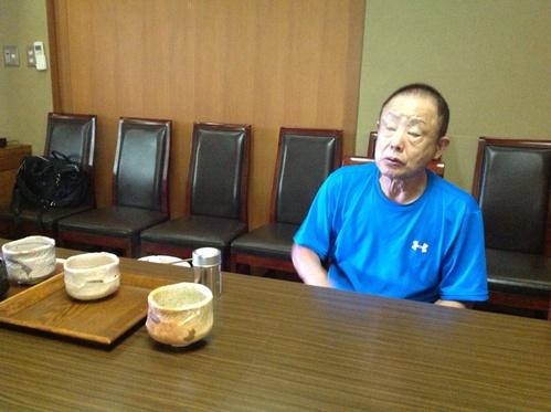 77歳現役陶芸家 藤田登太郎氏から人生観を学ぶ_b0153663_12565929.jpg