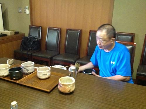 77歳現役陶芸家 藤田登太郎氏から人生観を学ぶ_b0153663_1257454.jpg