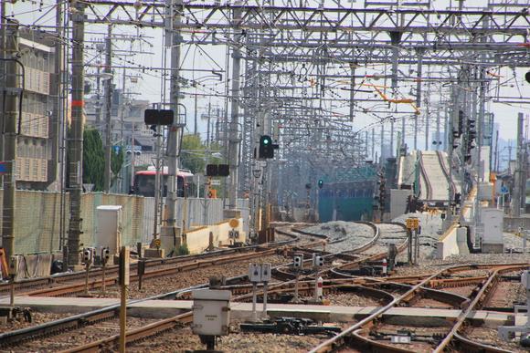 阪急洛西口駅 区間 高架_d0202264_19402364.jpg