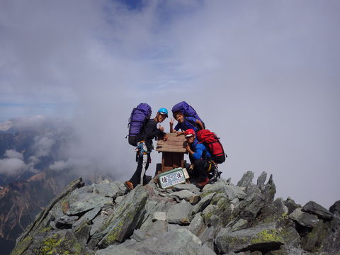 山ガールを求めて 北鎌尾根_d0237801_20104529.jpg