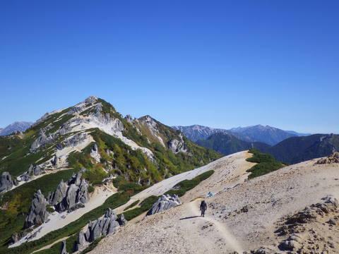 山ガールを求めて 北鎌尾根_d0237801_2013273.jpg