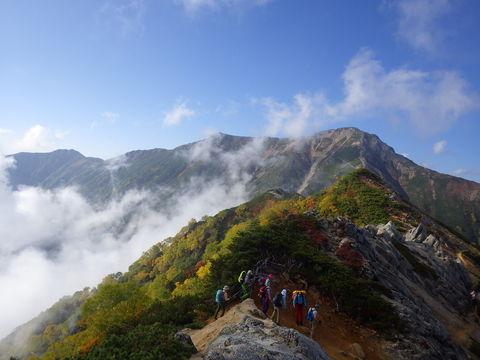 山ガールを求めて 北鎌尾根_d0237801_20255543.jpg