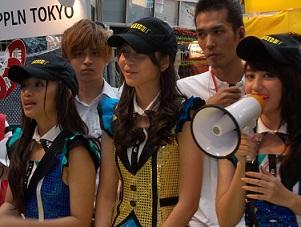 JKT48のナビラさん、センディさん、フェランダさん@インドネシア・フェスティバル(9/21~9/22)_a0054926_10562359.jpg