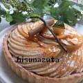 スフレチーズとドーナツ/りんごタルト