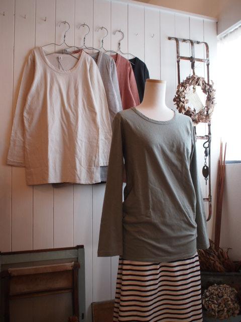 スカートとカットソー。_a0164280_16363061.jpg