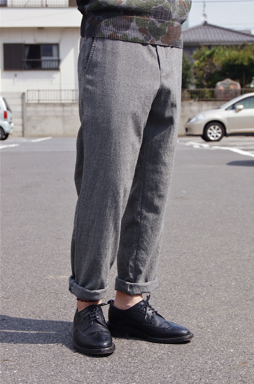 COMME des GARCONS HOMME - Wool herringbone set up & BIG GUEST!!_c0079892_20352871.jpg