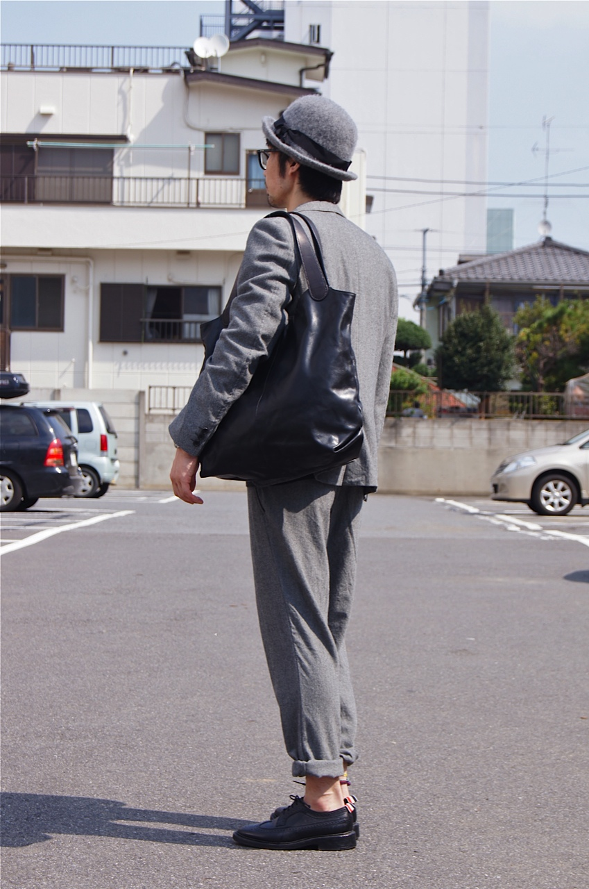 COMME des GARCONS HOMME - Wool herringbone set up & BIG GUEST!!_c0079892_2035610.jpg