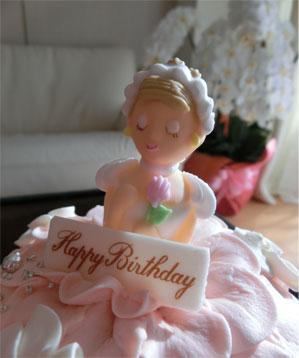 プリンセスケーキで、3人のB.D★_d0224894_15265158.jpg