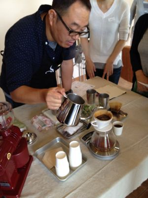 福伝珈琲のコーヒーセミナー_c0188311_15204225.jpg