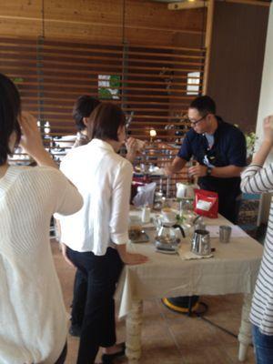 福伝珈琲のコーヒーセミナー_c0188311_1520479.jpg