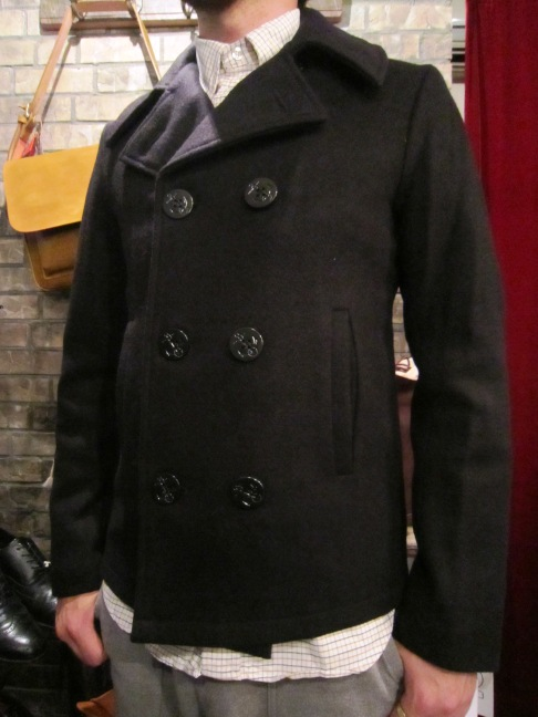 "FIDELITY ""22oz SHORT PEA COAT\"" ご紹介_f0191324_9354419.jpg"