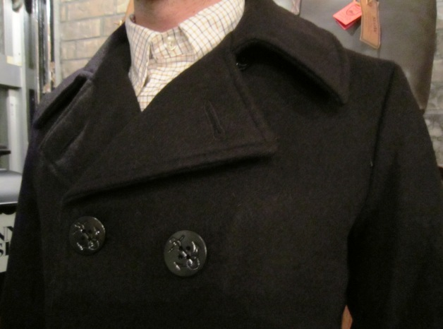 "FIDELITY ""22oz SHORT PEA COAT\"" ご紹介_f0191324_9355762.jpg"