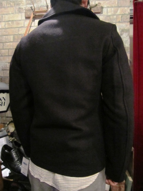 "FIDELITY ""22oz SHORT PEA COAT\"" ご紹介_f0191324_936118.jpg"