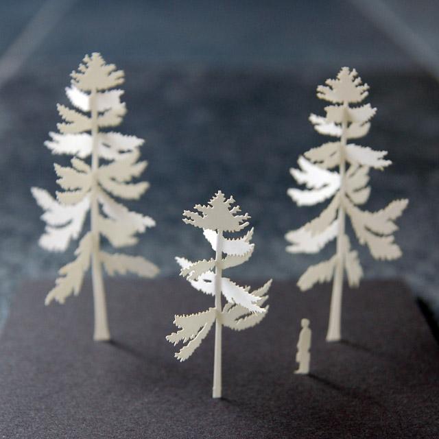 建築模型用 紙 製樹木模型_d0095746_118555.jpg